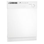 Frigidaire White Dishwasher FBD2400KW