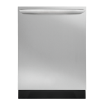 Stainless Steel Frigidaire Gallery Built-In Dishwasher FGID2466QF