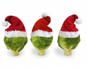 Christmas brussel sprouts