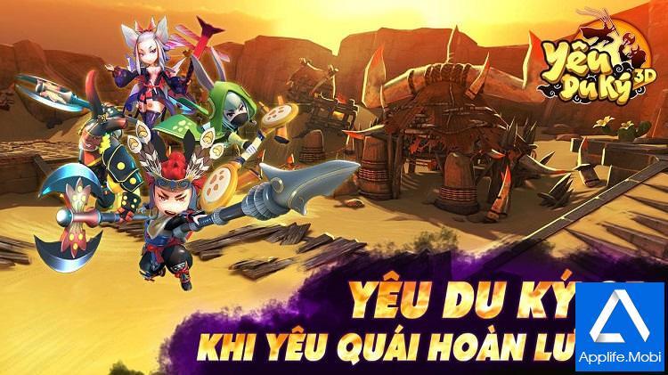 Game Yêu Du Ký 3D cho Android iOS