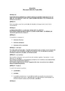 APPOR - Statuts, Association Prévention Orthophonie Rhône