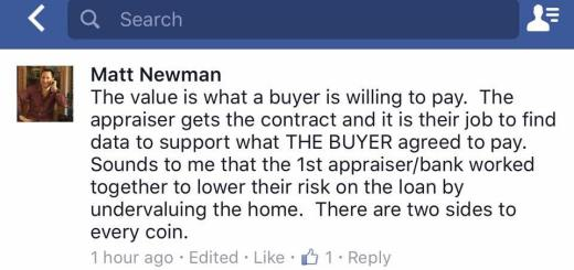 Purchase Price with an Appraised Value to Match?