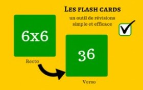 flash cards méthode de révision