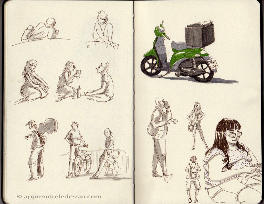 Croquis_dessiner_visages 7
