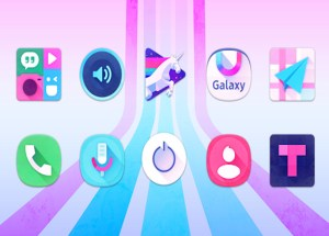 Unicorn Icon Pack for Windows 10/ 8/ 7 or Mac