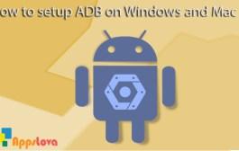 How to setup ADB on Windows and Mac