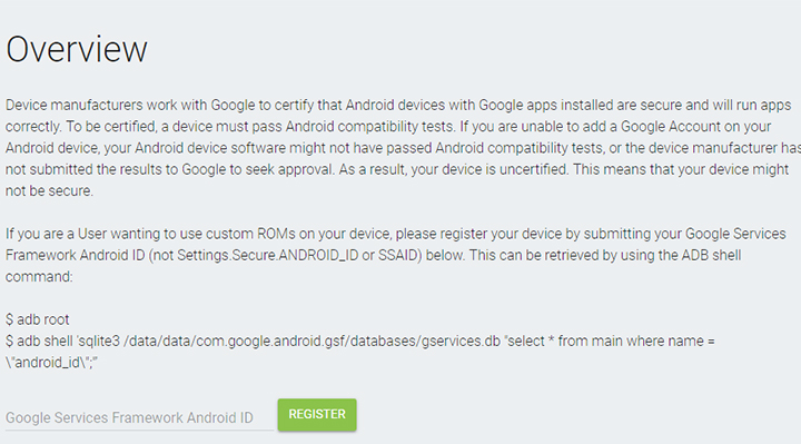 from the google play store or sign in to your google account.