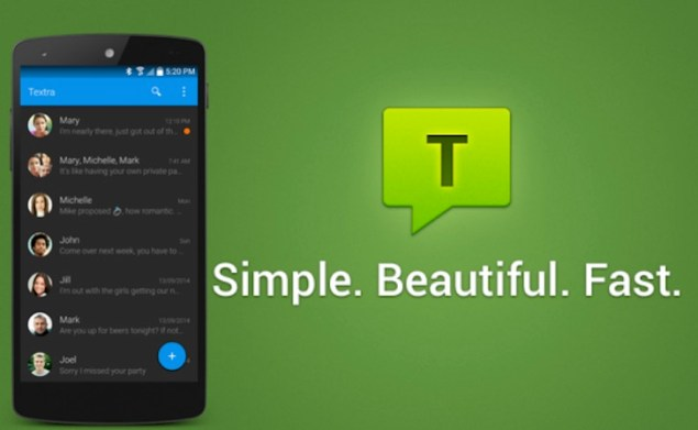 download textra sms apk for android