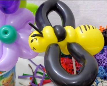 Escultura de balão de Abelha