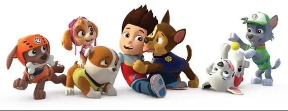 La patrulla canina (Paw Patrol): Caretas para imprimir y jugar!
