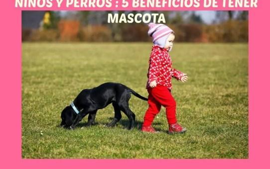 NIÑOS Y PERROS 5 BENEFICIOS DE TENER MASCOTA
