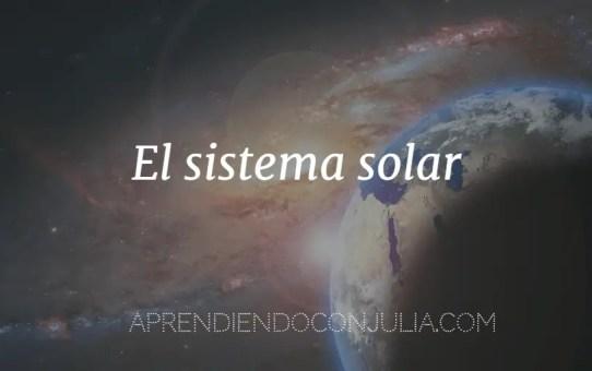sistema solar movimeinto, descubrimiento, nacimento, planetas
