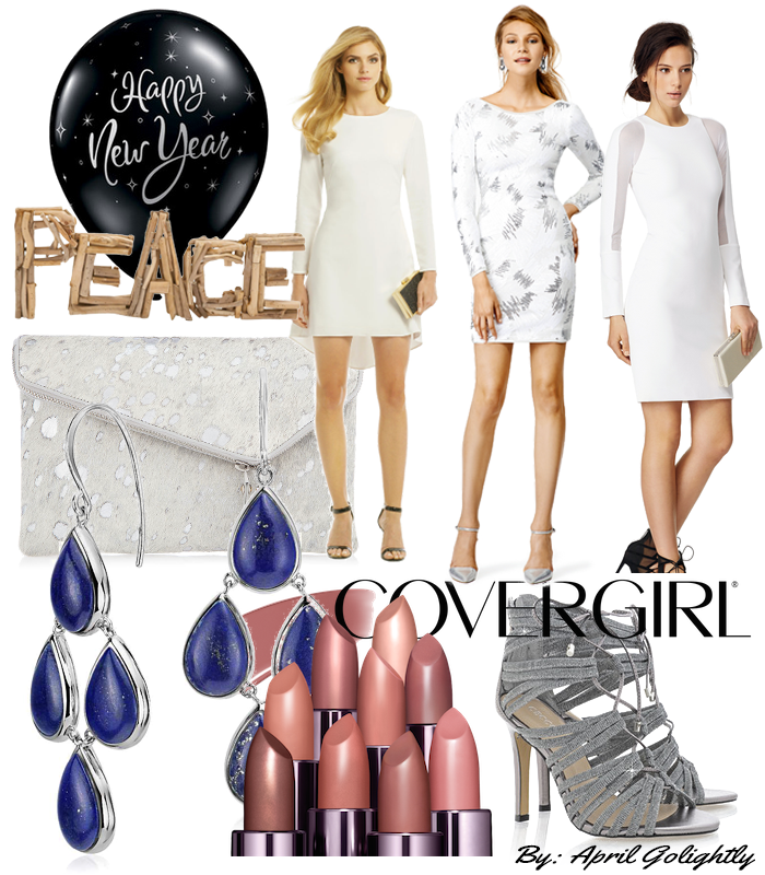 White New Years Eve dresses from rent the runway