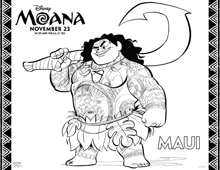 maui-moana-coloring-sheets