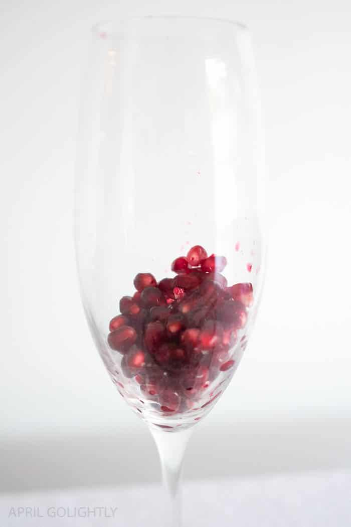 Pomegranate Iced Tea Sparkling Wine Spritzer Cocktail Recipes