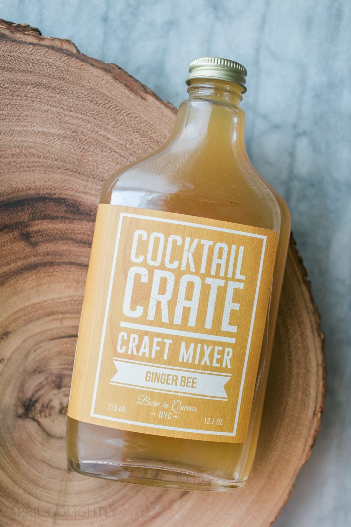 Ginger Bee Craft Mixer Cocktail