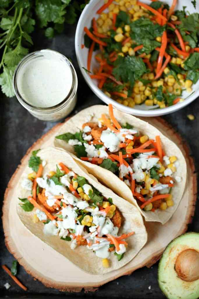 Easy Buffalo Chicken Tacos Recipe