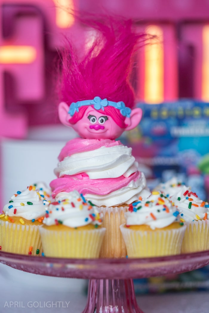 Dreamworks Trolls Party Edition Princess Poppy Inspired