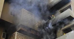حرائق بسبب السكن العشوائي