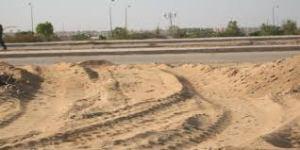 الأراضي في مصر