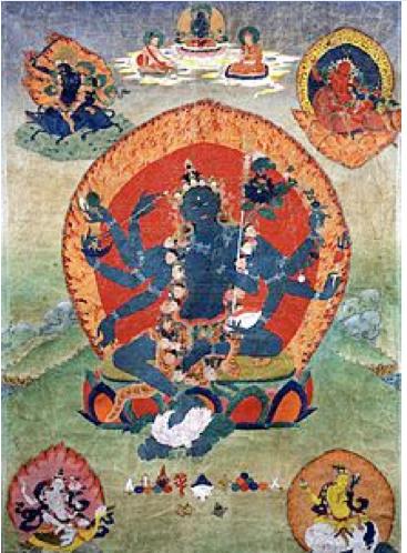 Aureola dios hindú