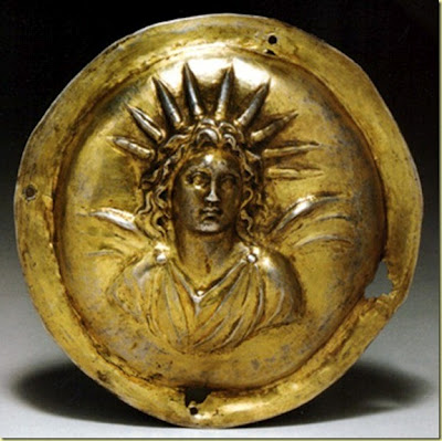 Nimbo o Halo dios Apolo