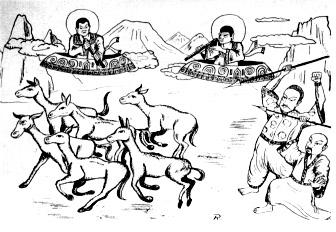 Halos y ovnis Japon isla Jotuo Lago Toengt'ing 1957