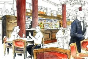 Urban Sketchers: Cafés de Baires