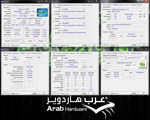 Gigabyte GA-Z68X-UD7-B3 Review - Arabhardware