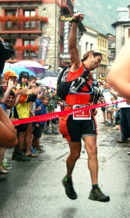 Oscar Pérez, ganador Gran Trail Aneto-Posets 2013