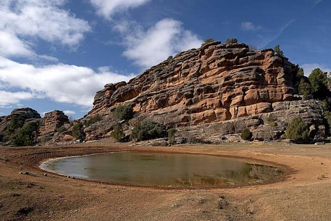 Sierra de Albarracín, Paisaje Protegido de los Pinares de Rodeno.