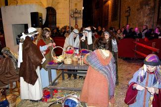 Belén viviente de Teruel (2012-13). Foto: Ayuntamiento de Teruel.