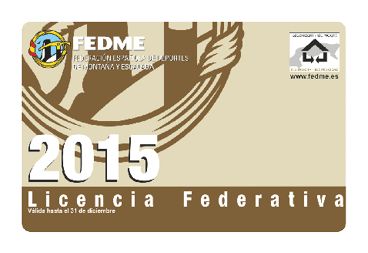 tarjeta FEDME