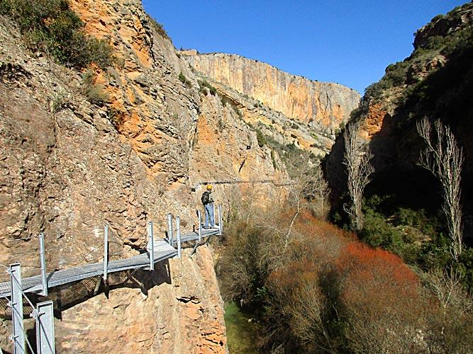 Ruta de las Pasarelas de Alquezar_