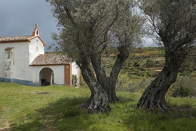 Ermita de la Virgen del Villar, Sediles, SL-Z 16.