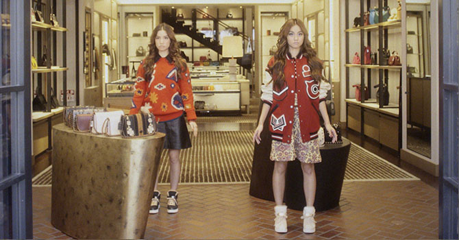 School Daze. FEMM Tries Out Americana in Vogue Japan