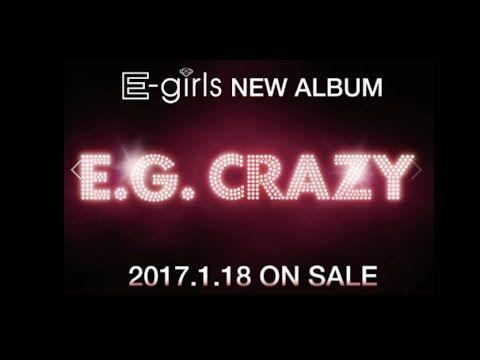 """E-girls announce new album """"E.G. Crazy"""""""