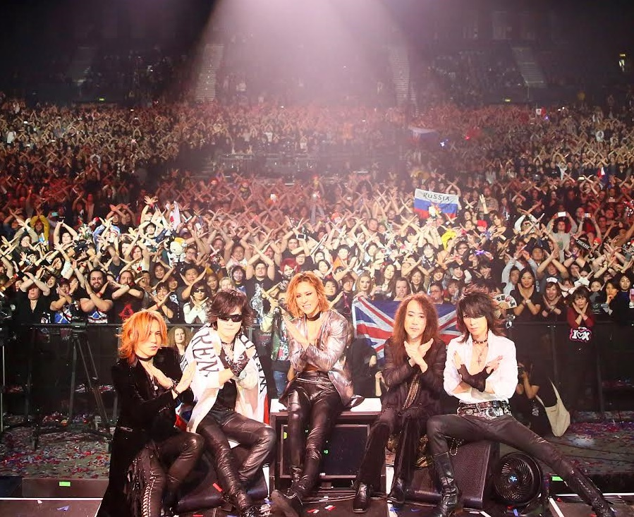 X Japan takes over London HMV, goes to #1 on UK Rock Chart
