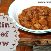 Beef Recipe #4 ~ Latin Beef Stew (crockpot-friendly!)