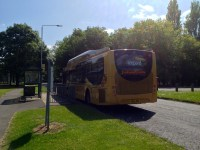 Leopard Bus at Arborfield
