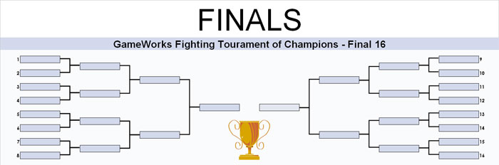 ... head bracket single elimination tournament until a winner is crowned