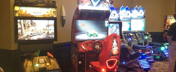 Disney Cars Arcade As Seen On Location Test At Tomorrowland Arcade, DisneyWorld