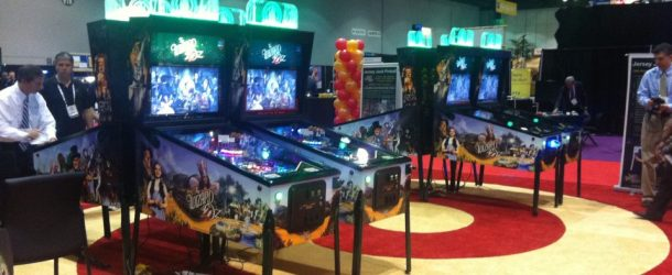 From IAAPA: Jersey Jack Booth, New ReRave Cabinet