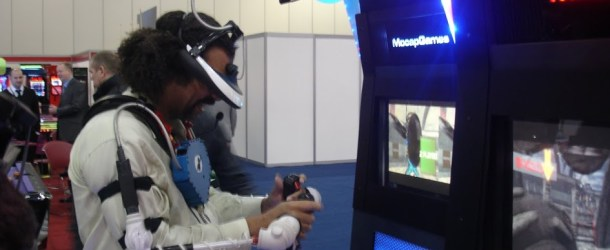 MoCap Games' Sci Shooter As Seen At EAG 2013