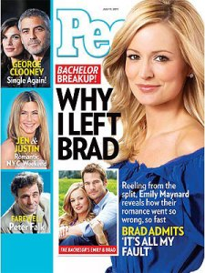 People Magazine Cover for July 11, 2011
