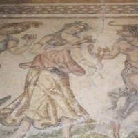 Bulgaria's Stara Zagora Unveils Restored Ancient Mosaics from Roman City Augusta Traiana Showing 'Silenus with Bacchantes'