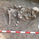 Archaeologists Discover 6,500-Year-Old Grave of Man Holding Stone Ax Scepter near Chalcolithic Flint Workshop in Bulgaria's Kamenovo