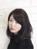 無造作ヘアー×ダークカラーで大人女子スタイル【archange by anyhow】