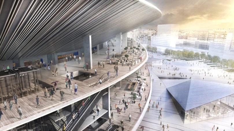 New Camp Nou Stadium / Nikken Sekkei + Pascual i Ausió Arquitectes