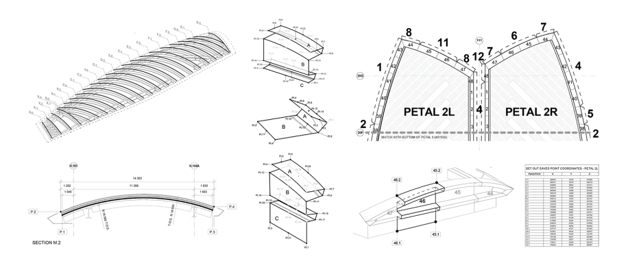 Roof Eaves panels - documentation diagrams